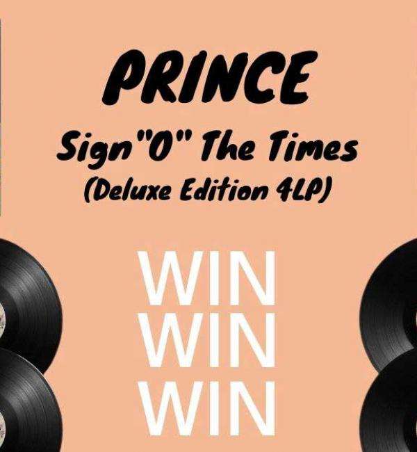 "Win Prince's Sign ""O"" The Times 4LP Deluxe Set"